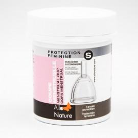 Coupe Menstruelle et sa boite de stérilisation et de stockage