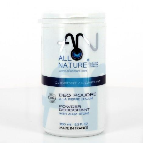 Déodorant poudre alun – Poudreuse 100g